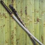 Golden Leaf Katana