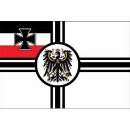German WWI Imperial Naval War Flag, WWI Imperial German ...