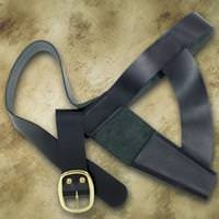 Brown Bess Waist Belt With Frog