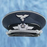 German WWII Reproduction Luftwaffe Officer's Cap