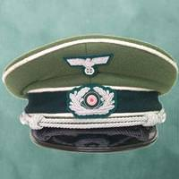 German WWII Reproduction Wehrmacht Officer's Cap