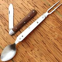 Civil War Folding Utensils