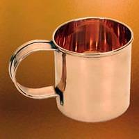 Solid Copper Coffee Mug