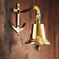 Anchor Mount Ship's Bell