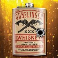 Gunslinger Flask