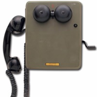 Kellogg WWII Switchboard Telephone Military Surplus