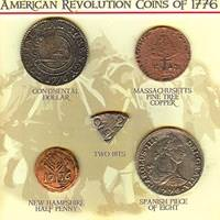 American Revolution Coins