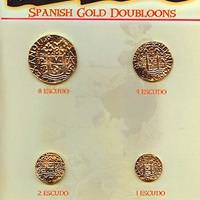 Replica Gold Doubloon Coins