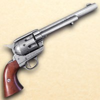1873 .45 Caliber Revolver Cavalry Style Antique Grey Finish