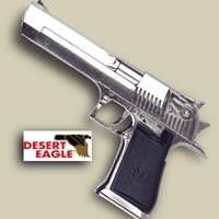 Desert Eagle Replica Chrome Pistol