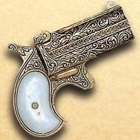 1866 Double-Barreled Derringer