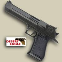 Desert Eagle Replica Black Pistol