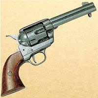 USA 1886 .45 Army Revolver -  Pewter