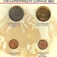 Confederate Coins of 1861