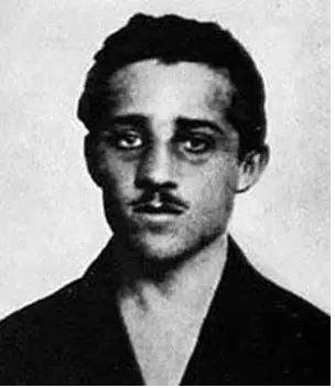 Gavrilo Princip in custody after shooting